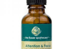 ATTENTION & FOCUS CELL SALTS AND FLOWER ESSENCES