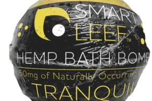50MG OF NATURALLY OCCURRING CBD TRANQUIL HEMP BATH BOMB