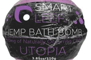 UTOPIA HEMP BATH BOMB