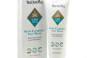 ACNE CLEARING CBD 100 MG FACE WASH