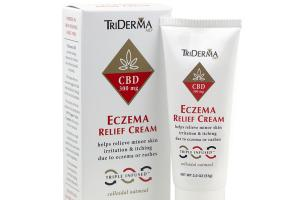 ECZEMA RELIEF CBD 300 MG COLLOIDAL OATMEAL CREAM
