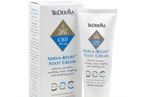 NERVA-RELIEF CBD 500 MG HOMEOPATHIC MEDICINE FOOT CREAM