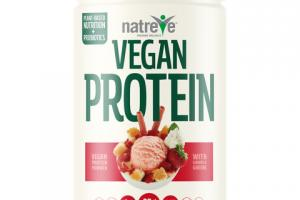 VEGAN PROTEIN 25 G POWDER, STRAWBERRY SHORTCAKE SUNDAE