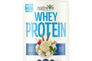 WHEY PROTEIN 28 G POWDER, FRENCH VANILLA WAFER SUNDAE