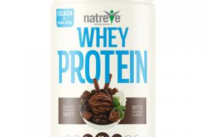 WHEY PROTEIN 28 G POWDER, FUDGE BROWNIE SUNDAE