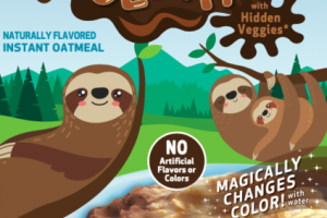 COCO CHOCOLATEY INSTANT OATMEAL COCO SLOTH