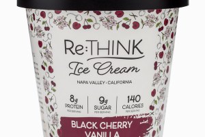 BLACK CHERRY VANILLA ICE CREAM