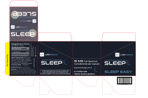 15 MG FULL SPECTRUM CANNABINOIDS SLEEP EASY ESSENTIAL OMEGAS 3-6-9 HEMP SUPPLEMENT CAPSULES