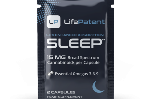 15 MG BROAD SPECTRUM CANNABINOIDS PER CAPSULE LPX ENHANCED ABSORPTION SLEEP HEMP SUPPLEMENT CAPSULES