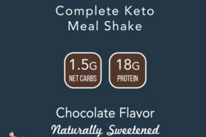 CHOCOLATE FLAVOR COMPLETE KETO MEAL SHAKE
