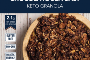 CHOCOLATE SEA SALT KETO GRANOLA