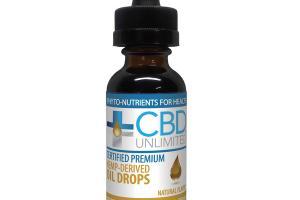 HEMP-DERIVED DIETARY SUPPLEMENT OIL DROPS, NATURAL