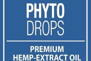 PREMIUM HEMP-EXTRACT OIL PHYTO DROPS DIETARY SUPPLEMENT, ORANGE
