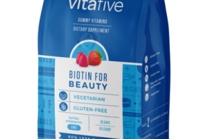 BIOTIN FOR BEAUTY GUMMY VITAMINS DIETARY SUPPLEMENT