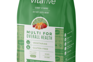 MULTI VITAMIN FOR OVERALL HEALTH INCLUDES VITAMINS: A, B, C, D, E DIETARY SUPPLEMENT GUMMY
