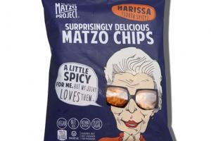 HARISSA (SORTA SPICY) MATZO CHIPS
