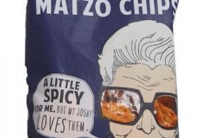HARISSA (SORTA SPICY) MATZO CHIP