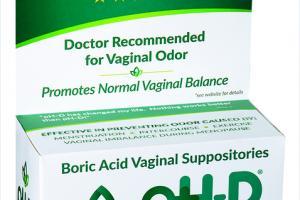 BORIC ACID PROMOTES NORMAL VAGINAL BALANCE VAGINAL SUPPOSITORIES