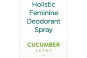 HOLISTIC FEMININE DEODORANT SPRAY CUCUMBER