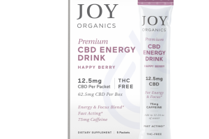 PREMIUM CBD ENERGY DRINK DIETARY SUPPLEMENT PACKETS, HAPPY BERRY