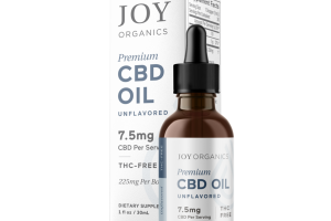 PREMIUM 7.5 MG CBD OIL DIETARY SUPPLEMENT, UNFLAVORED