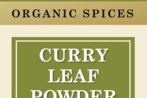 CURRY LEAF POWDER ORGANIC SPICES