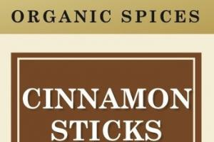 CINNAMON STICKS ORGANIC SPICES