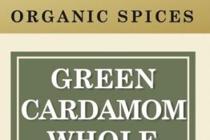 GREEN CARDAMOM WHOLE ORGANIC SPICES