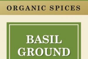 BASIL GROUND ORGANIC SPICES