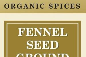 FENNEL SEED GROUND ORGANIC SPICES