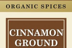 CINNAMON GROUND ORGANIC SPICES