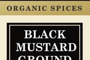 BLACK MUSTARD GROUND ORGANIC SPICES