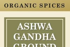 ASHWA GANDHA GROUND ORGANIC SPICES