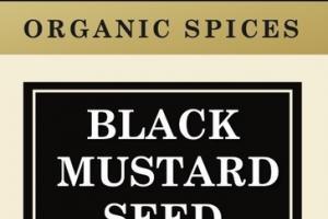 BLACK MUSTARD SEED ORGANIC SPICES
