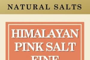 HIMALAYAN PINK SALT FINE NATURAL SALTS