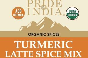 ORGANIC SPICES, TURMERIC LATTE SPICE MIX
