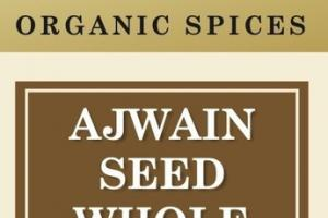 AJWAIN SEED WHOLE ORGANIC SPICES