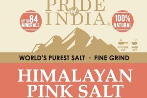 100% NATURAL HIMALAYAN PINK SALT