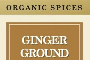 GINGER GROUND ORGANIC SPICES