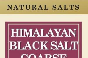 HIMALAYAN BLACK SALT COARSE