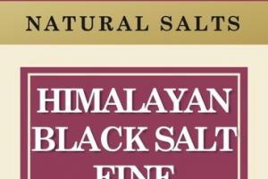 HIMALAYAN BLACK SALT FINE