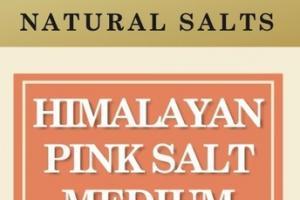 HIMALAYAN PINK SALT MEDIUM NATURAL SALTS