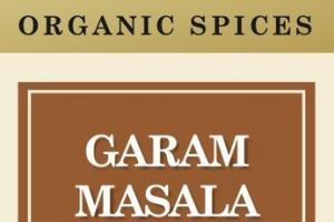GARAM MASALA ORGANIC SPICES