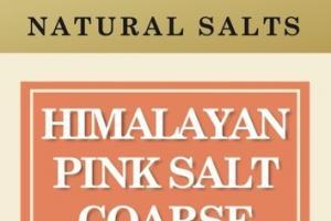 HIMALAYAN PINK SALT COARSE NATURAL SALTS