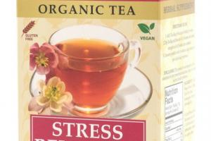 ORGANIC STRESS RELIEF HERBAL RELAXING TEA BAG