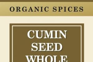 CUMIN SEED WHOLE ORGANIC SPICES