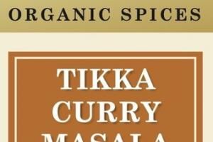 TIKKA CURRY MASALA ORGANIC SPICES