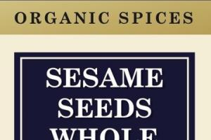 SESAME SEEDS WHOLE ORGANIC SPICES