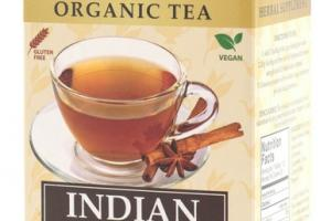 INDIAN ORGANIC CHAI TEA BAGS