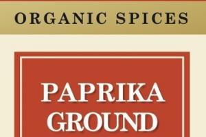 PAPRIKA GROUND ORGANIC SPICES